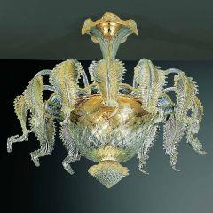 Geppa Murano Glass Ceiling Lamp