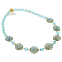 Necklace Ca D'Oro - Aqua