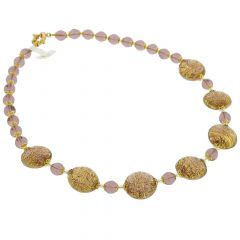 Necklace Ca D'Oro - Purple
