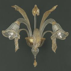 Aquatico Murano Glass Sconce