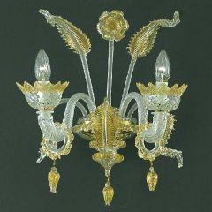 Caenasso Murano Glass Sconce