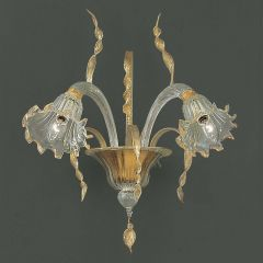 Cesare Murano Glass Sconce