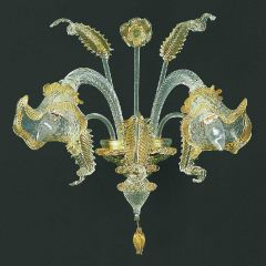Geppa Murano Glass Sconce