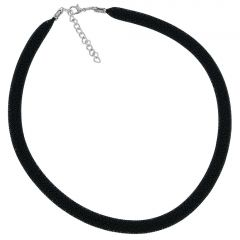 Murano Necklace Eleganza - Black