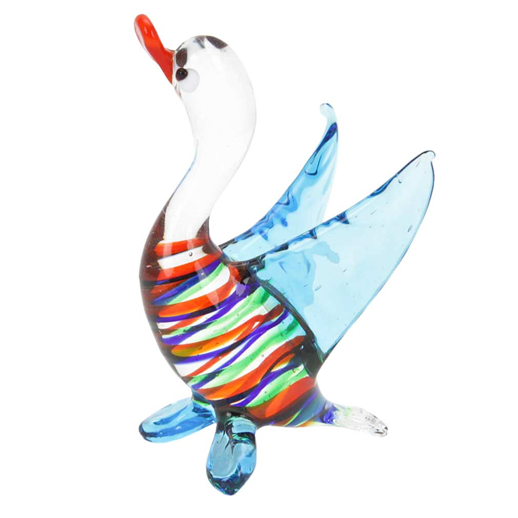 Striped Glass Duck