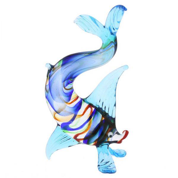 Striped Glass Elongated Fish