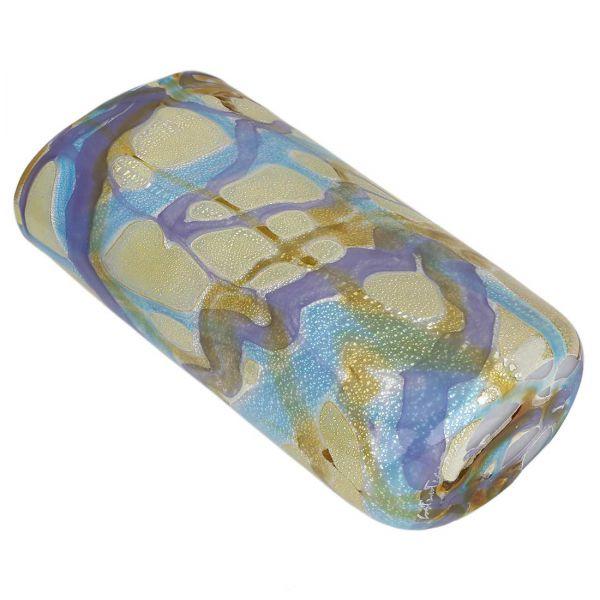 Murano Glass Shimmering Sea Vase