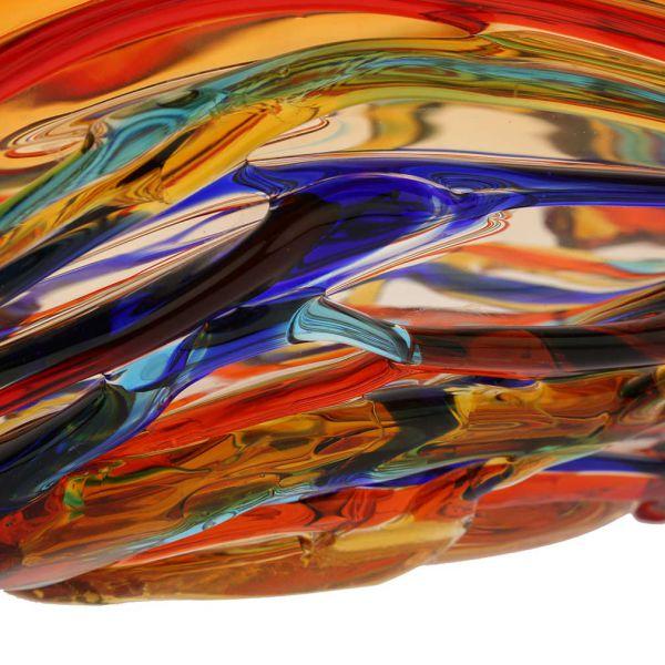 Murano Glass America Centerpiece Bowl