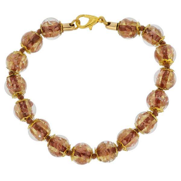 Sommerso Bracelet - Transparent Golden Brown