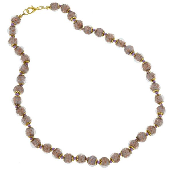 Sommerso Necklace - Purple