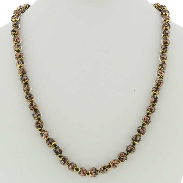 Sommerso Long Necklace - Black