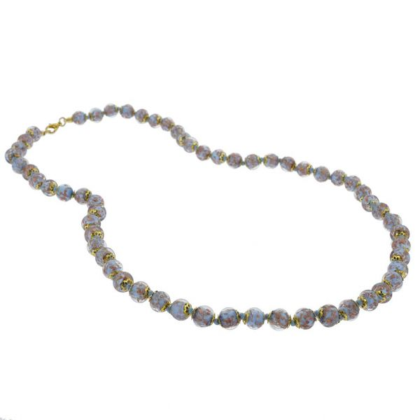 Sommerso Long Necklace - Periwinkle