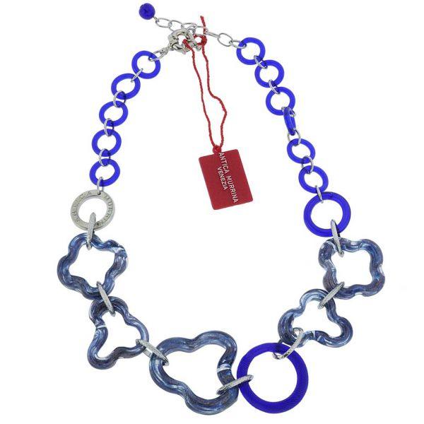 Arhat Murano Necklace - Midnight Blue