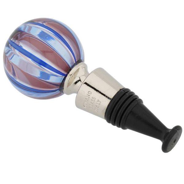 Murano Glass Chalcedony Bottle Stopper