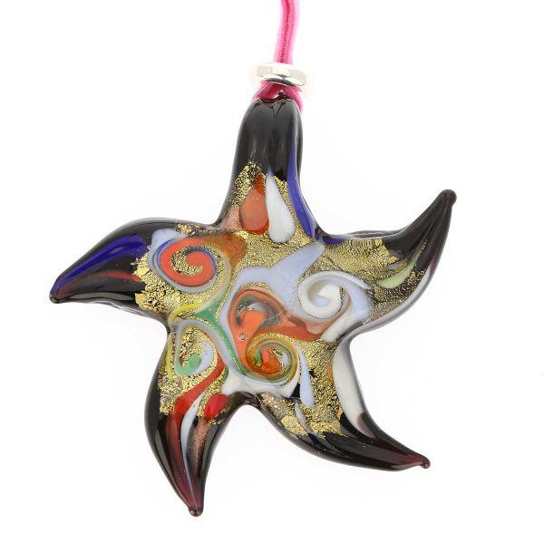 Venetian Starfish Pendant
