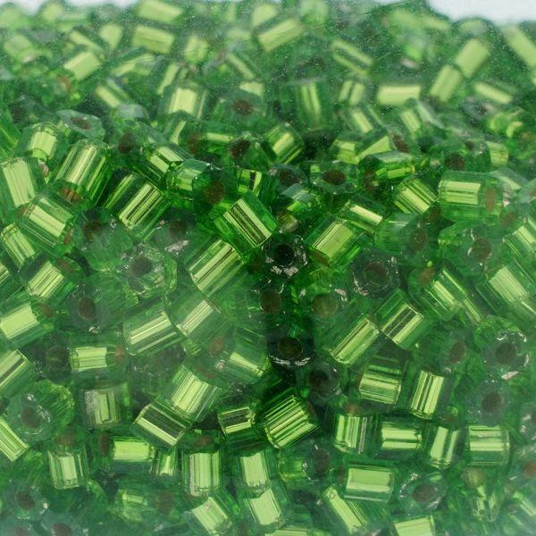 Murano Glass Sparkly Beads Bottle Stopper - Green