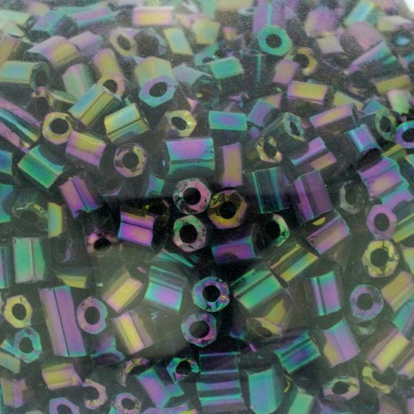 Murano Glass Sparkly Beads Bottle Stopper - Iridescent