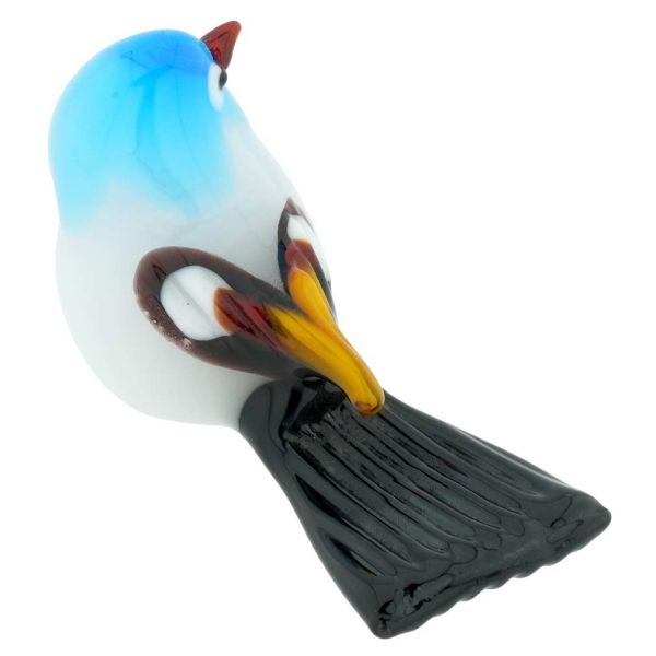 Murano Glass Baby Bird - Aqua Blue