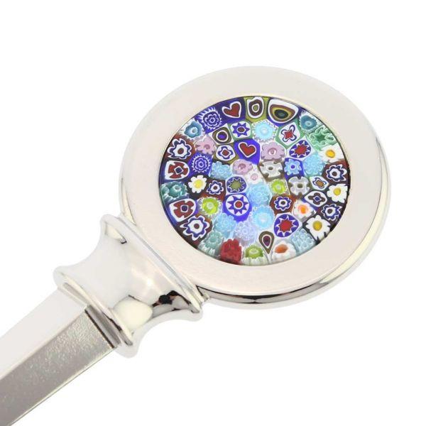 Murano Glass Millefiori Letter Opener