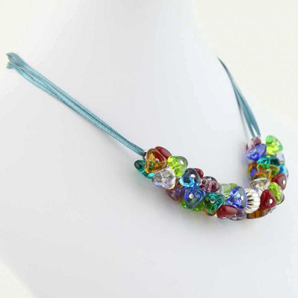 Preziosa Murano Glass Necklace - Multicolor