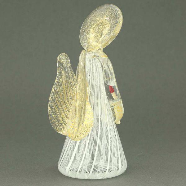 Reticello Murano Glass Angel