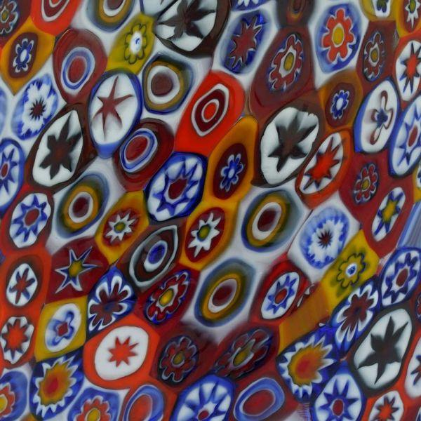 Murano Glass Pendant Light - Millefiori
