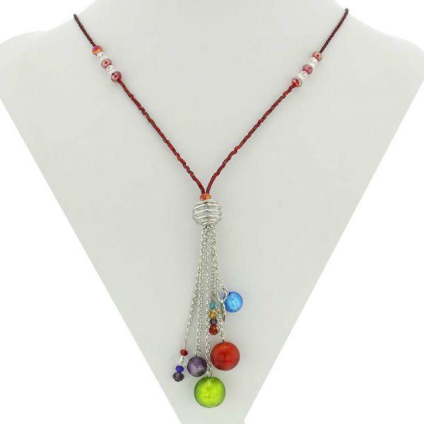 Sorgente Murano Glass Necklace - Multicolor