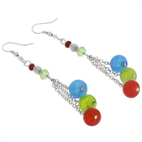 Sorgente Murano Glass Earrings - Multicolor