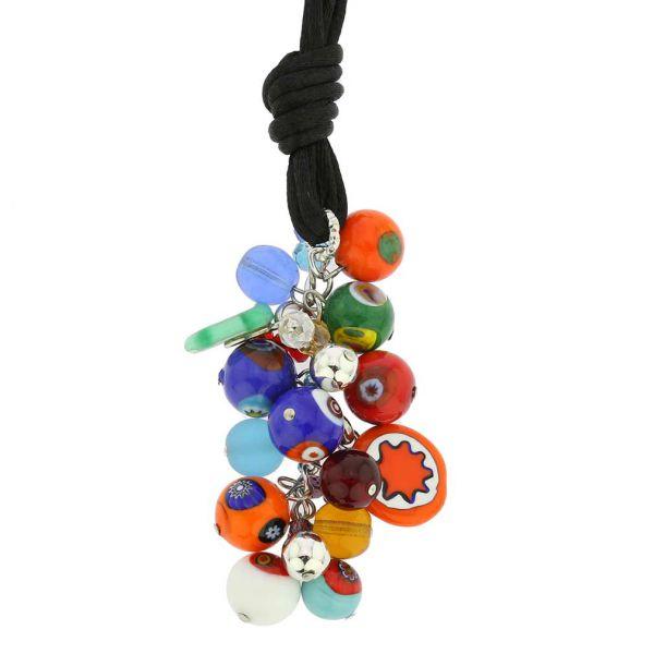 Sorgente Millefiori Murano Glass Necklace - Multicolor