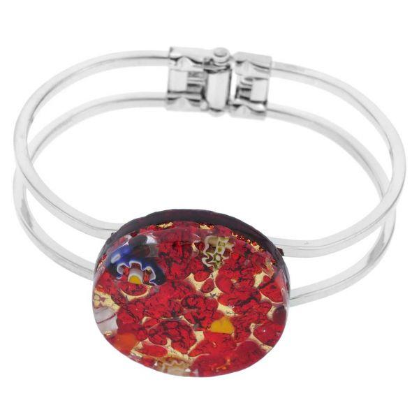Venetian Reflections Metal Bracelet - Red Gold