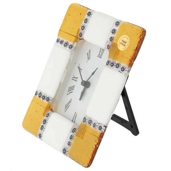 Venetian Glass Alarm Clock Ducale
