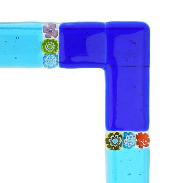 Murano Glass Photo Frame Murano 4X6 Inch