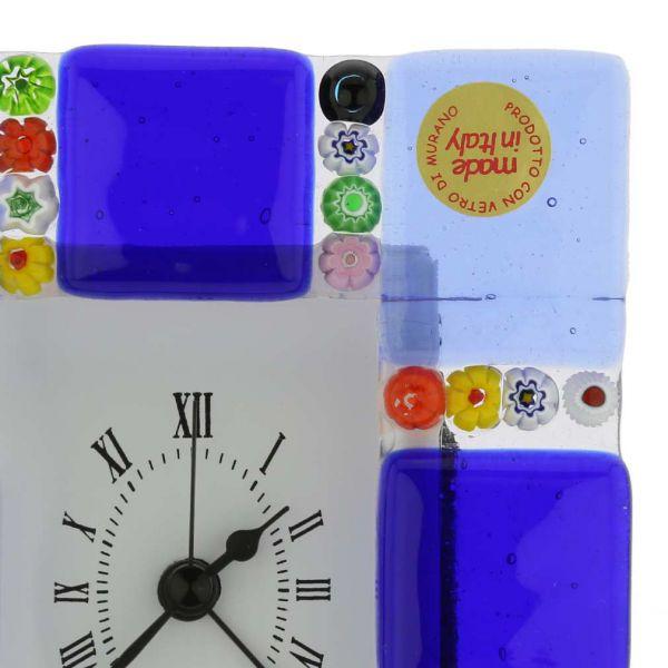 Venetian Glass Alarm Clock Sospiri