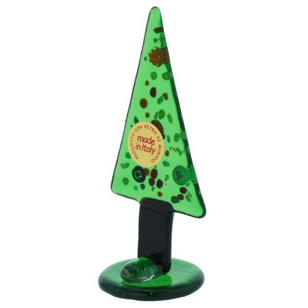 Murano Glass Millefiori Christmas Tree Figurine