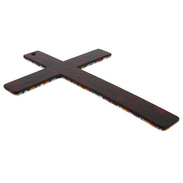 Murano Art Glass Wall Crucifix