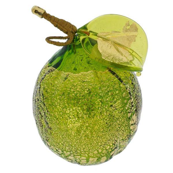 Murano Glass Lime