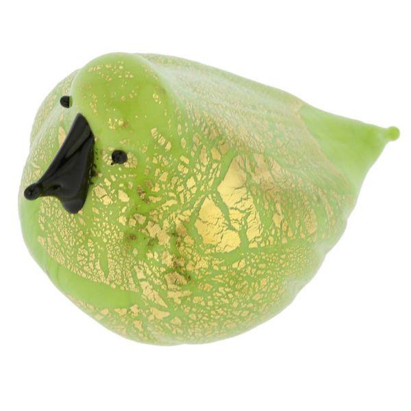 Murano Glass Bird - Green