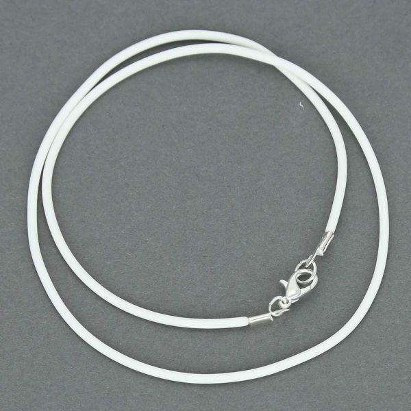Rubber Cord - White