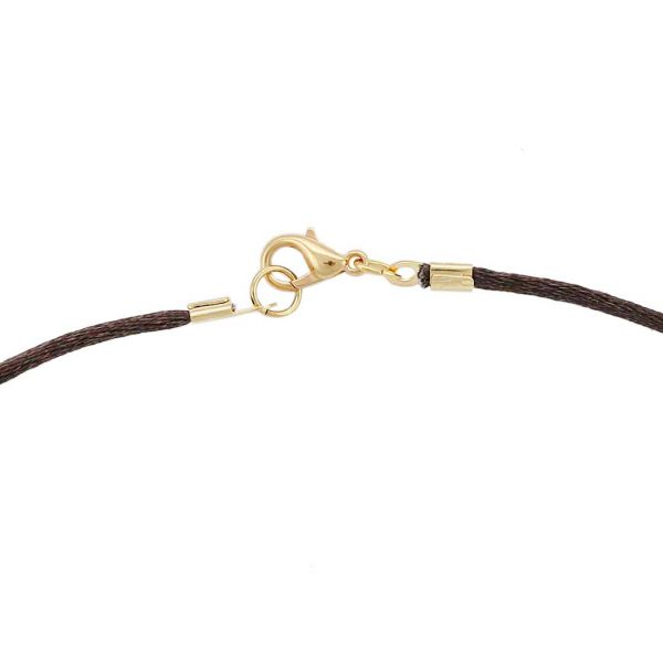 Silk Cord - Chocolate Brown