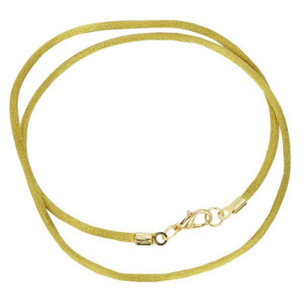 Silk Cord - Antique Gold