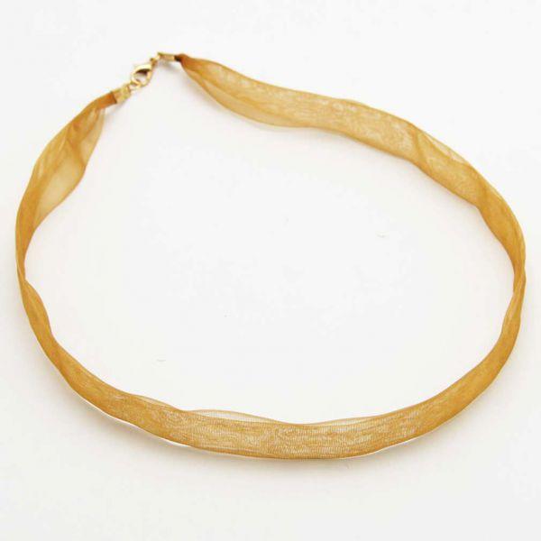 Organza Ribbon - Gold