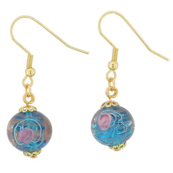 Magnifica Earrings - Crystal Rose