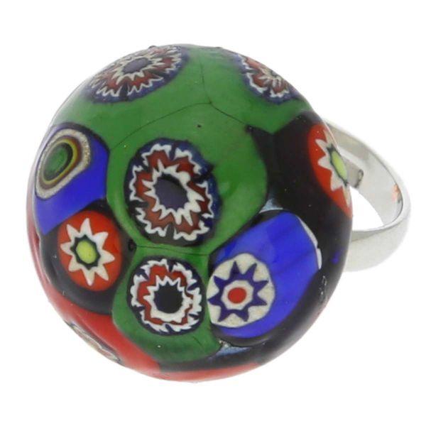 Murano Mosaic Ring