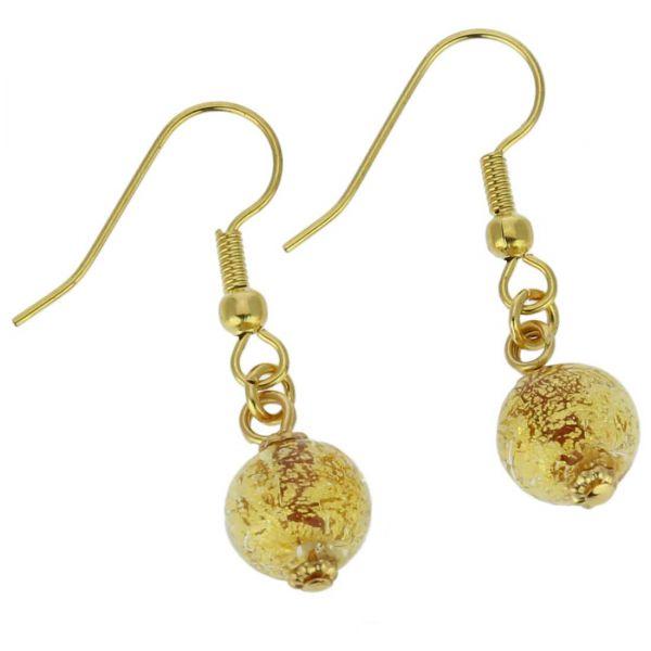Golden Glow Earrings - Sunshine
