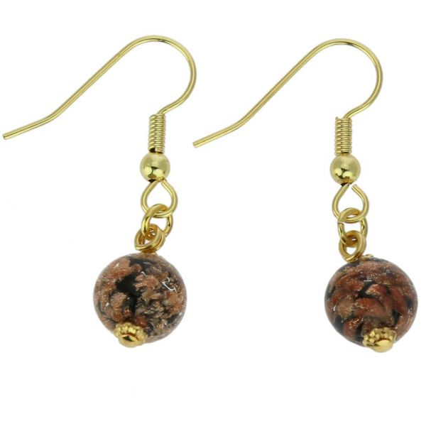 Starlight Balls Earrings - Black