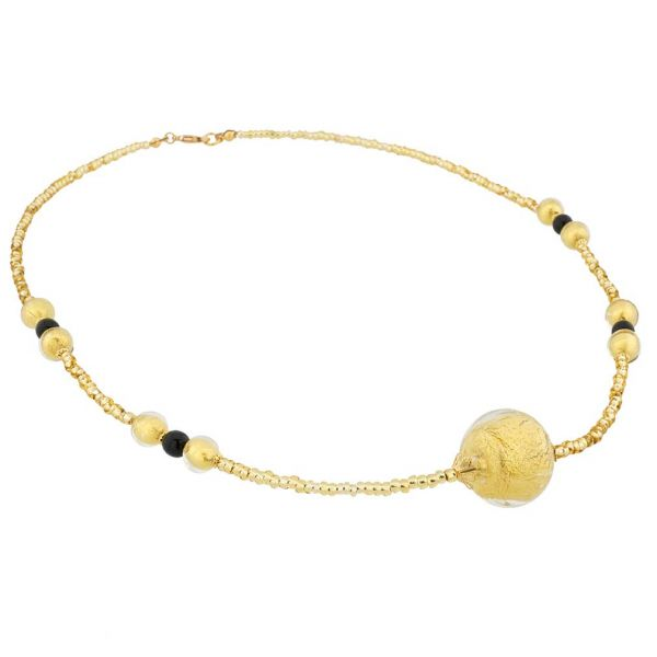 Salute Golden Glow Necklace