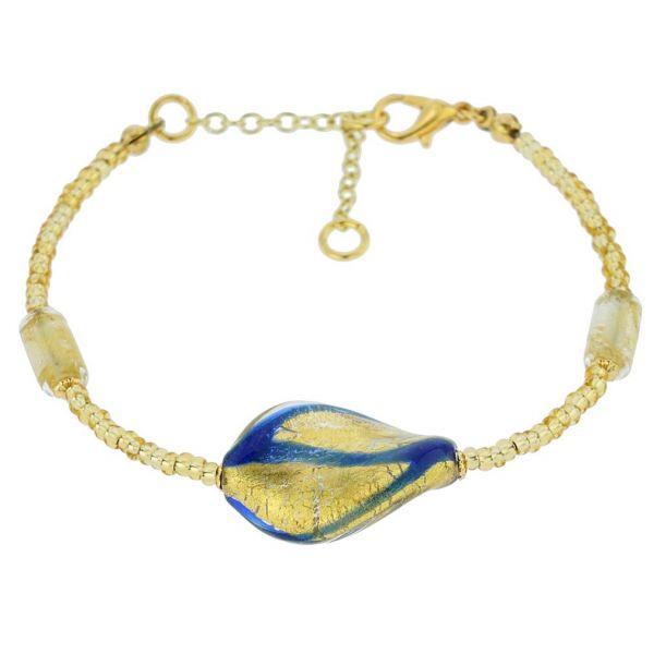 Royal Blue Spiral Bracelet