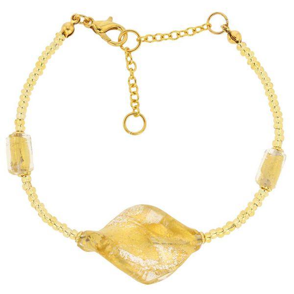 Royal Gold Spiral Bracelet