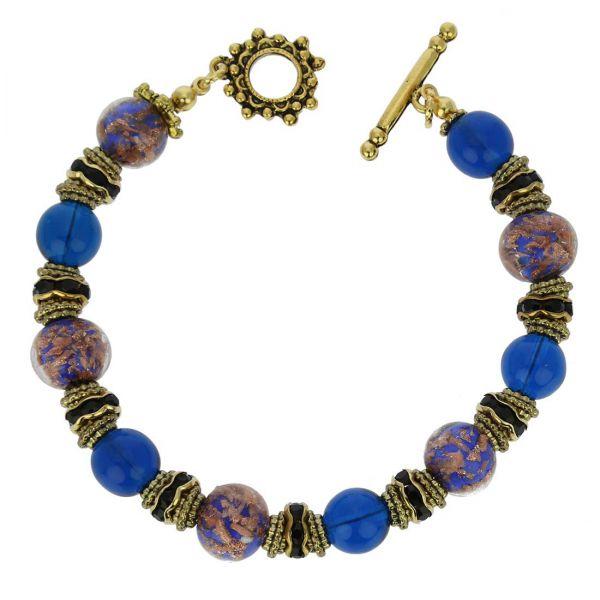 Murano Symphony Bracelet - Blue