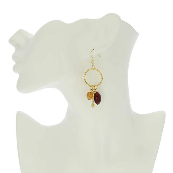 Il Sole Murano Earrings